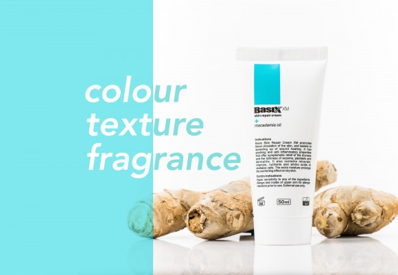 Basix  Fragrance Colour and Texture